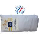 Drap housse coton uni blanc 80x200 cm Tradilinge