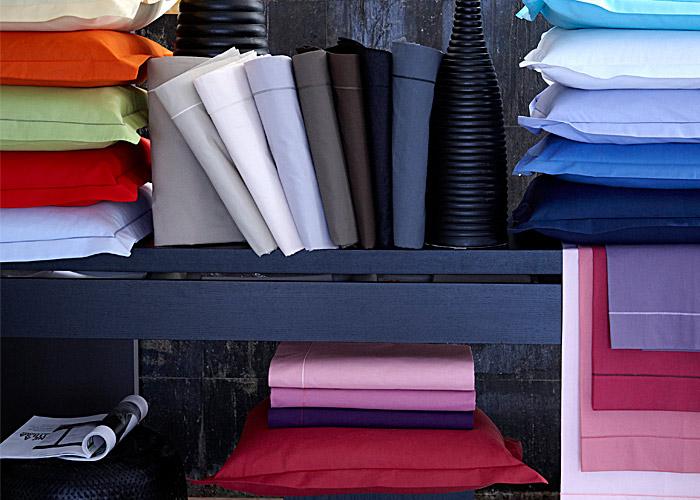 drap housse coton 57 fils uni blanc 80x200 cm tradilinge bonnet 30 cm. Black Bedroom Furniture Sets. Home Design Ideas
