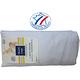 Drap housse coton uni blanc TRADILINGE pour lit de 100 cm