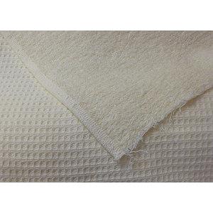 tissu coton double face ponge nid d 39 abeille largeur 140. Black Bedroom Furniture Sets. Home Design Ideas