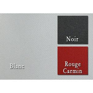 Tissu polyester uni DIABOLO non feu M1