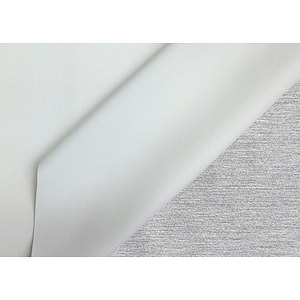 Tissu occultant uni blanc
