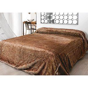 couvre lit ou plaid fausse fourrure vison. Black Bedroom Furniture Sets. Home Design Ideas