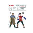 Patron adulte costume Ecuyer & Mousquetaire - Patron Burda 7976