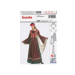 Patron robe chatelaine - Patron Burda 2509