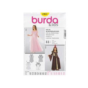 Patron burda robe de fée ou de princesse - Patron Burda 2463