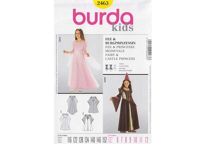Fée Robe Princesse Ou Burda De Patron 2463 nPkwO0N8X