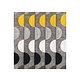 Rideau Moon Col.30 jaune