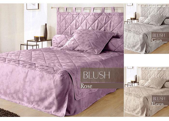 couvre lit 3 volants. Black Bedroom Furniture Sets. Home Design Ideas