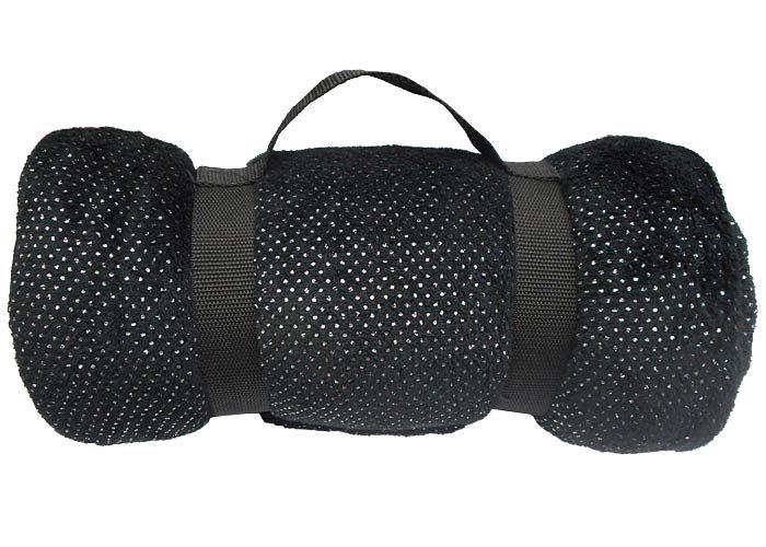 Plaid disco plaid polyester plaid linder plaid pas cher for Plaid noir pour canape