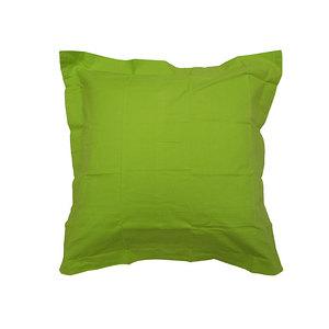 taie d oreiller 65x65 pas cher Taie d'oreiller carrée coton uni 57 fils 1er prix   Taie d  taie d oreiller 65x65 pas cher