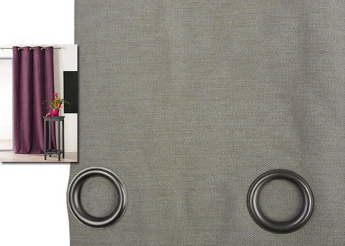 rideau uni pr t poser isolant et occultant alaska. Black Bedroom Furniture Sets. Home Design Ideas