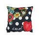 Coussin DESIGUAL Cushion Polka face fleurie