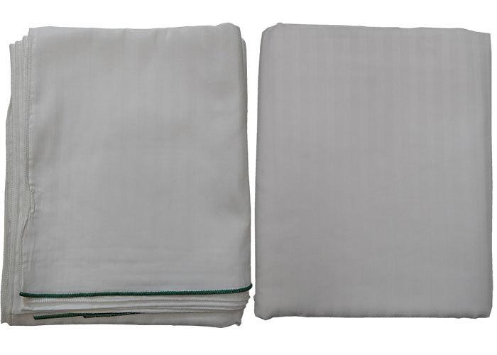 housse de couette non feu 220x240 cm blanche ray e ton sur ton. Black Bedroom Furniture Sets. Home Design Ideas