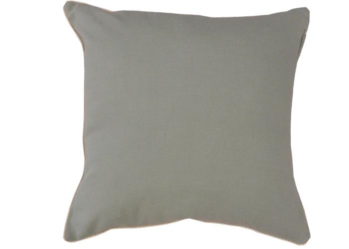 housse de coussin 40x40 unie finition passepoil ebay. Black Bedroom Furniture Sets. Home Design Ideas
