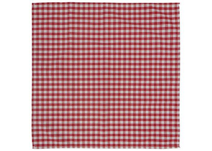 Serviette de table bistrot serviette de table carreaux - Nappes et serviettes de table ...