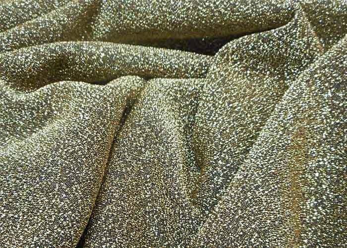 Decoration Noir Et Argent : Tissu brillant polyester