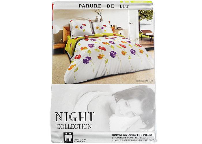 D coration housse de couette romantique beige nice 21 for Housse de couette france