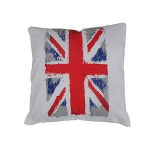 Coussin Colombo motif drapeau anglais
