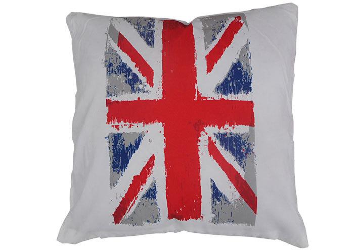 Coussin colombo motif drapeau anglais coussin d coratif d houssable - Drapeau anglais tissu ...