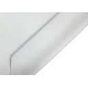 Tissu occultant uni blanc NON FEU M1 en 3 mètres de large