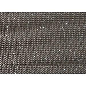 Tissu simili cuir gris taupe pailleté SWARO