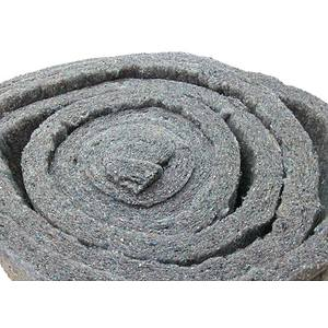 Ouate grise de rembourrage et de capitonnage en 120 cm de large