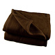 Couverture polaire lit 2 places 350g/m2 cacao