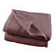 Couverture polaire lit 2 places 350g/m2 chocolat