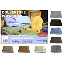 Couverture polaire lit 160 Queen Size 350g/m2