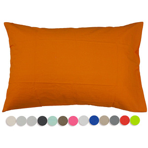 Taie d'oreiller rectangulaire coton uni 57 fils 1er prix