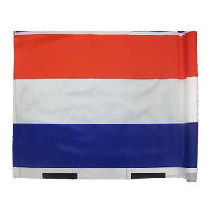 Tissu polyester bleu blanc rouge