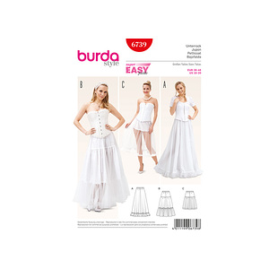 Patron Burda Jupon 6739