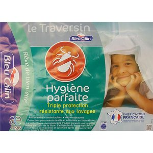 Traversin hygiène parfaite BLEU CALIN