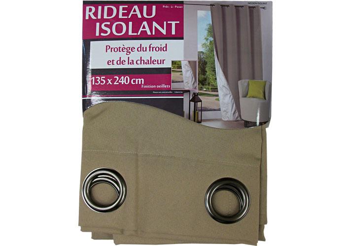 rideau isolant du froid et de la chaleur nelson rideau isolant. Black Bedroom Furniture Sets. Home Design Ideas