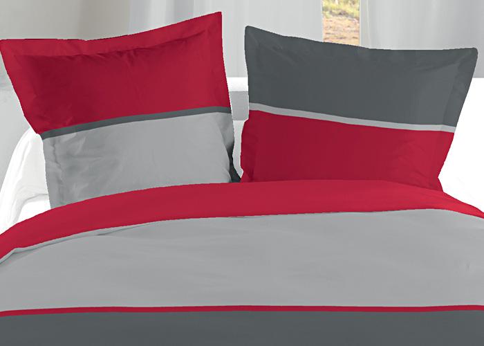 housse de couette gris blanc achat ou acheter housse de couette. Black Bedroom Furniture Sets. Home Design Ideas
