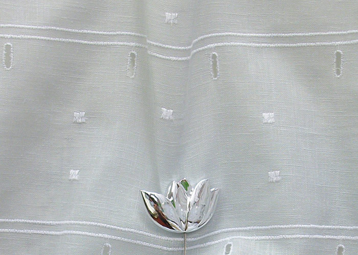 petit rideau gris petits carr s petit rideau polyester coton ForPetit Rideau Gris
