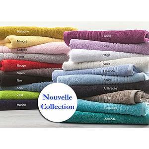 Gants de toilette éponge coton uni 565 g/m2 Tradition des Vosges