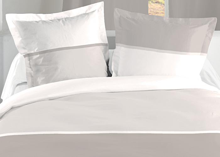 housse de couette bicolore lin coton 3 boutons pictures to. Black Bedroom Furniture Sets. Home Design Ideas