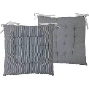 Galette de chaise Angèle grise