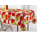 Nappe rectangle 150x240 cm antitache coquelicots poppy