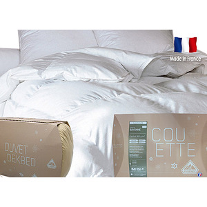 couette duvet et plumes pyrenex mod le bayonne 360 g m2 ebay. Black Bedroom Furniture Sets. Home Design Ideas
