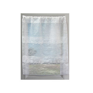 Petit rideau blanc Perce neige