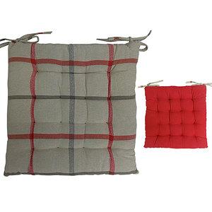 Galette de chaise Purpy rouge