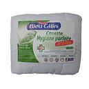 Couette blanche 220x240 hygiène Parfaite BLEU CALIN