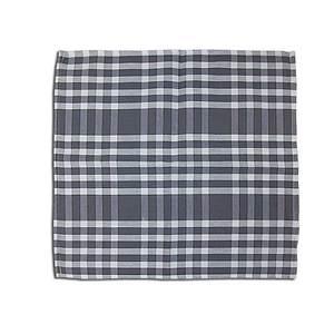 Serviette de table NORMANDE 45x45 cm vichy gris et blanc