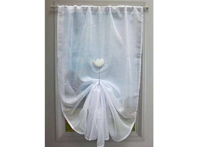 rideau vitrage pas cher trendy rideau vitrage tamine. Black Bedroom Furniture Sets. Home Design Ideas