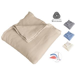 Couverture Normandy 100% laine mérinos 400g/m2