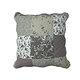 Taie d'oreiller Boutis ZOE gris patchwork romantique