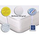 Protège matelas coton 220 g/m2 forme plateau